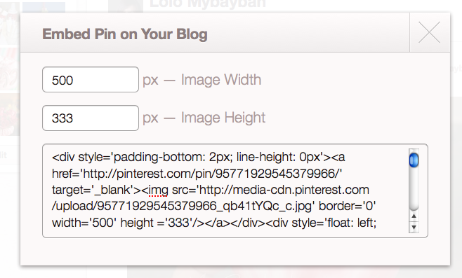 Picture 11 How to Share Your Favorite Pinterest Pins (Tutorial)