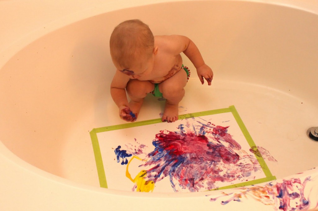 IMG 8591 1024x682 Fun Toddler Art Ideas |  Toddler Talk
