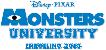 logo Monsters University Trailers | Vote For Your Favorite Mike Line