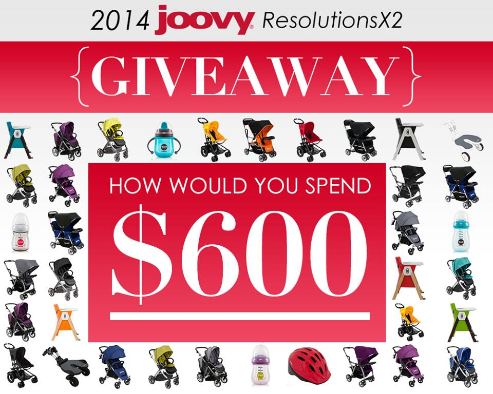 Joovy Giveaway Joovy 2014 ResolutionsX2 Giveaway #Joovy2014ResolutionsX2